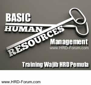 training basic human resources management