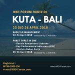 Bulan April 2018 Training di Kuta Bali