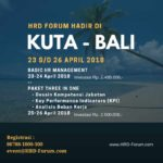 Bulan April 2018 Training di Kuta Bali